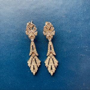 Art Deco Inspired Vintage Earrings